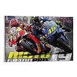 Qatars MotoGP 2019 - Lienzo decorativo para pared y póster de 20 x 30 cm