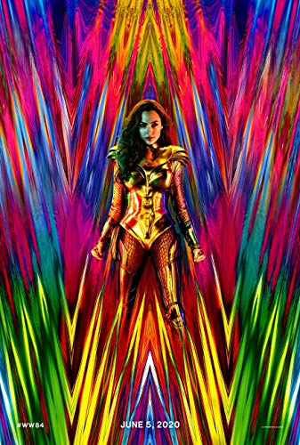 WONDER WOMAN 1984 MOVIE POSTER 2 Sided ORIGINAL Advance 27x40 GAL GADOT