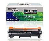 SINOPRINT - Cartucho de tóner compatible para impresora Brother TN2420 TN-2420 para HL-L2350DW MFC-L2710DW DCP-L2510D DCP-L2530DW HL-L2375DW HL-L2370DN L2310D MFC-L2730DW TN2410 TN-2410 (1 negro)