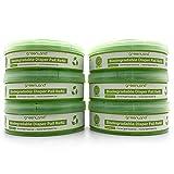 Greenland Biologisch abbaubare Nachfüllkassetten kompatibel mit Tommee Tippee Twist & Click und Sangenic Tec (6er Pack)