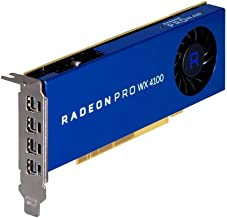 AMD Radeon Pro WX 4100 4GB GDDR5 Quad Display Graphics Card