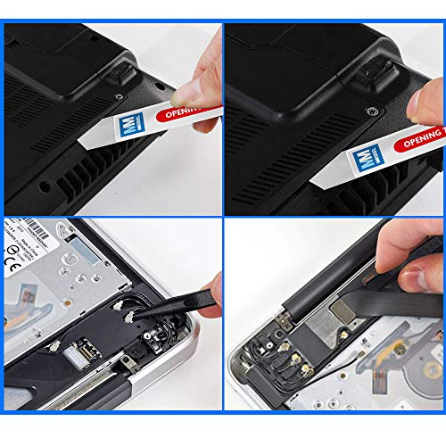 MMOBIEL Professional 3 Pcs Repair Screwdriver Toolkit Set for iPhone and Macbook Pro/Air with Retina incl P5 1.2 mm Pentalobe 5 pointed Star, T5 Torx and PH000 Philips 1.5 mm