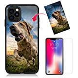 Z.Y Custom iPhone 11 Pro Max Cases - Tempered Glass Case, Anti-Scratch Shockproof Silicone TPU Frame Hybrid, Personalized Custom Picture Case (Compatible with All Phone Case)