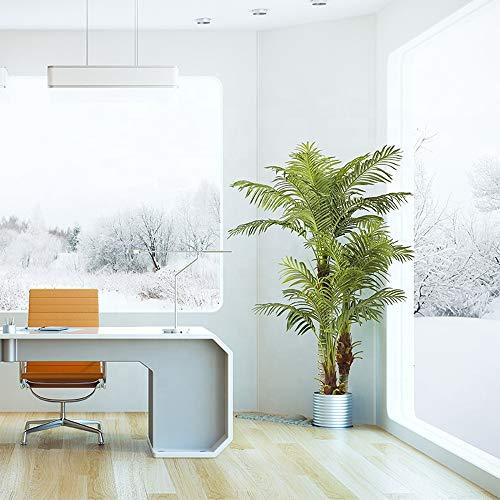 Arnusa Große Künstliche Palme Deluxe 180cm mit 3 Stämmen und 26 Palmenwedel Kunstpflanze Kunstpalme Zimmerpflanze - 2