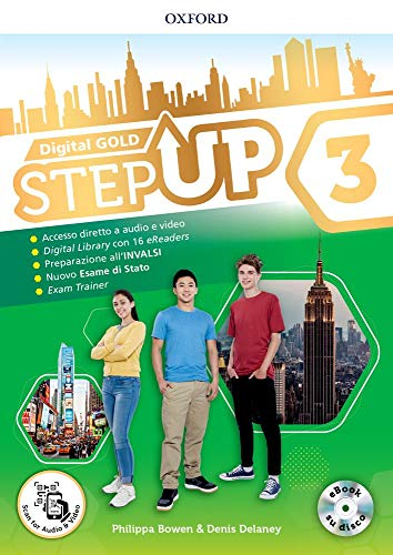 Step up gold. Student's book-Workbook-Extra book. Per la Scuola media. Con e-book. Con espansione online: 3