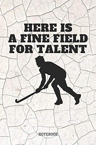 Notebook: My Favorite Sport Field Hockey Planner / Organizer / Lined Notebook (6