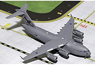 GeminiMACS Royal Air Force Boeing C-17 Globemaster ZZ176 99 Squadron Years 1: 400 Scale Diecast Model Airplane Vehicle