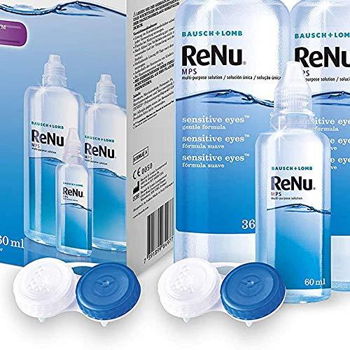 Bausch & Lomb ReNu MPS Pflegemittel für weiche Kontaktlinsen, Bigbox 2x 360 ml + 60ml - 5