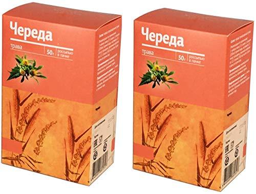 Dreiteiliger Zweizahn (lat. Bidens tripartita, rus. Chereda) getrocknet geschnitten 100 g