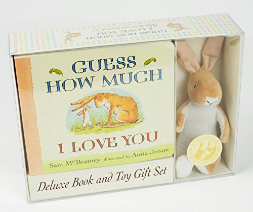 Compare Textbook Prices for Guess How Much I Love You: Deluxe Book and Toy Gift Set Deluxe Edition ISBN 9780763681081 by McBratney, Sam,Jeram, Anita