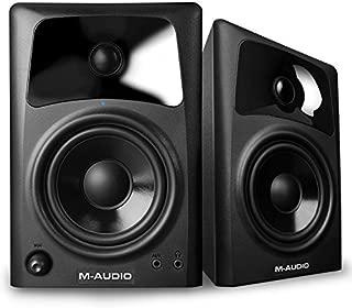 m audio studiophile av40 powered monitor speakers