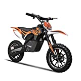 24v 500w Electric Dirt Bike Kids Motocross Dirt Bike Kid Motorcycle 3 Speed Selectable