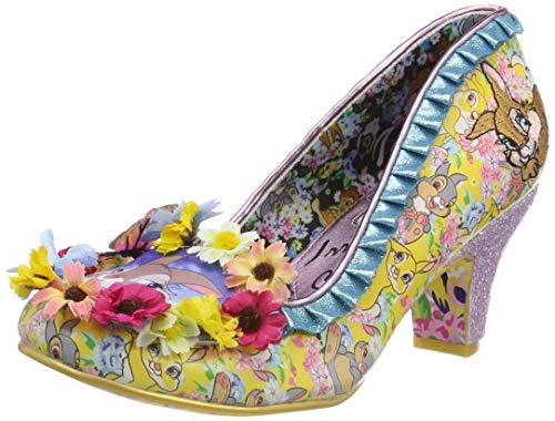 Irregular Choice Damen I'm Thumpin Pumps, Mehrfarbig (Yellow Multi A), 42 EU