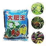 Pengyu-Flow Fertilizante, fertilizante universal de 300 g para flores, vegetales, bonsái, granja, jardín, fertilizante de liberación rápida, puede sobrevivir en cualquier entorno de suelo