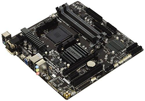 Gigabyte AM3+ AMD DDR3 1333 760G HDMI USB 3.0 Micro ATX Motherboard GA-78LMT-USB3 (Renewed)