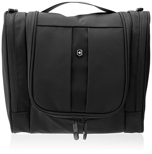 Victorinox Lifestyle Accessories 4.0 (Black, Hanging Toiletry Kit)