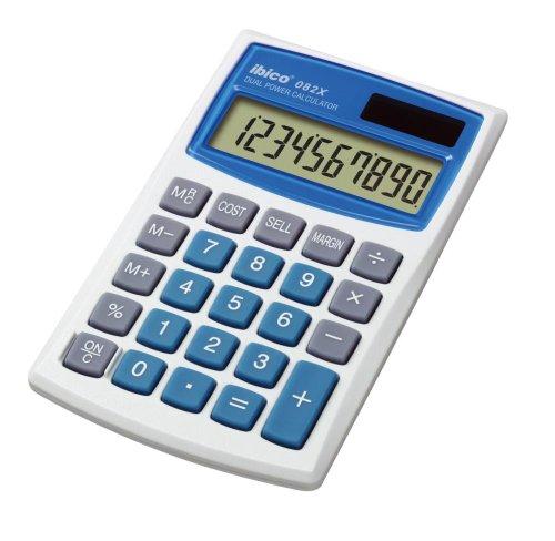 Ibico rekenmachine, werkt op zonne-energie, met kosten-efficiënte rekenfunctie 10-cijferig 3 toetsengeheugen 68 x 112 x 8 mm