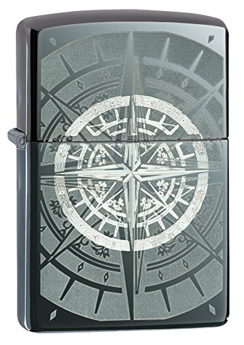 Zippo Compass Black Ice Pocket Lighter