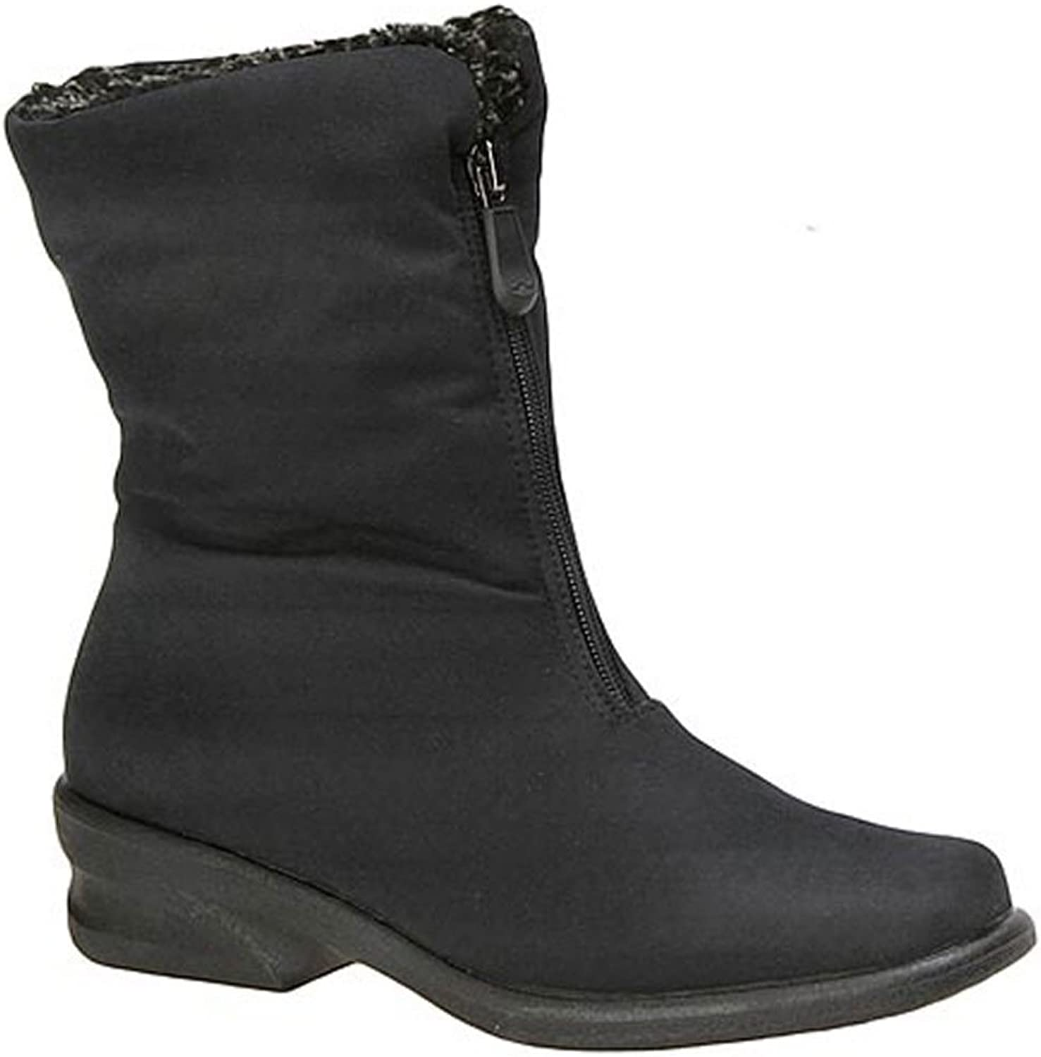 Toe Warmers Women Boots Michelle, Black, Size 8.5