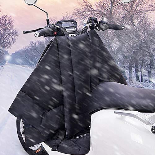 Motocicleta de Invierno/Scooter acolchabas de Parabrisas Cubierta de Pierna cálida Impermeable a Prueba de Viento Manta a Prueba de Viento Lapita de la Pierna Delantal