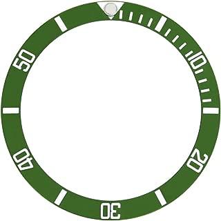 50TH ANNIVERSARY BEZEL INSERT FOR ROLEX SUBMARINER WATCH GREEN 16610LV FAT FOUR