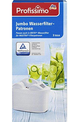 Profissimo Jumbo Wasserfilter-Patronen, 3 St
