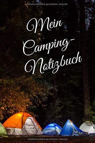 Camping Notizbuch: Punkteraster Dot Grid DIN A5 Reisetagebuch Journal Notizen Logbuch fürs Zelten, Wohnwagen, Wohnmobil, Camper, Caravan, WoMo und Campingplatz