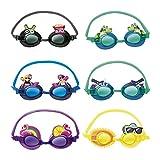 Bestway Gafas natación infantil decoradas 3 colores