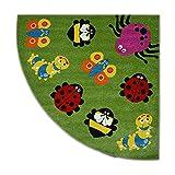 Teppich Paint Viertelkreis G4774 - Tiere...