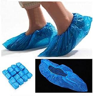 [Free Shipping] 100Pcs Disposable Plastic Thick Outdoor Rainy Day Carpet Cleaning Shoe Cover // 100x plástico desechable de limpieza de alfombras gruesa cubierta de la zapata