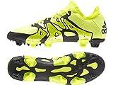 adidas X Hi FG/AG, Botas de fútbol para Hombre, Amarillo/Negro, 40 2/3 EU