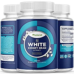 top rated White Kidney Bean Supplement Tablets, Pure Extracts, Carb Blockers, Starch, Slimming Formulas – Lose… 2021
