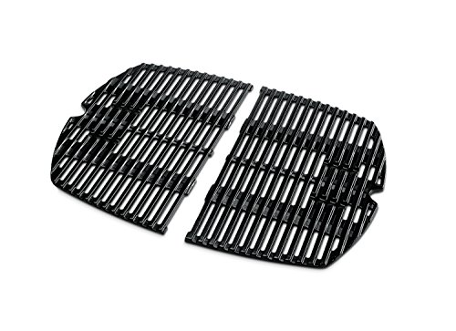 Weber Grillrost Q 2000/200-serien, schwarz, 38,86x 1,27 x 54,61 cm, 7645