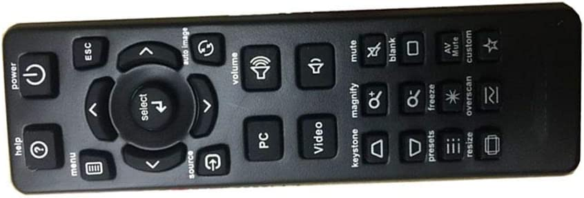 Easy Replacement Remote Control Suitable for INFOCUS X2 C448 LP70 IN3100 Projector