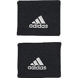 adidas Tennis Sweatband, Black / White, OSFM