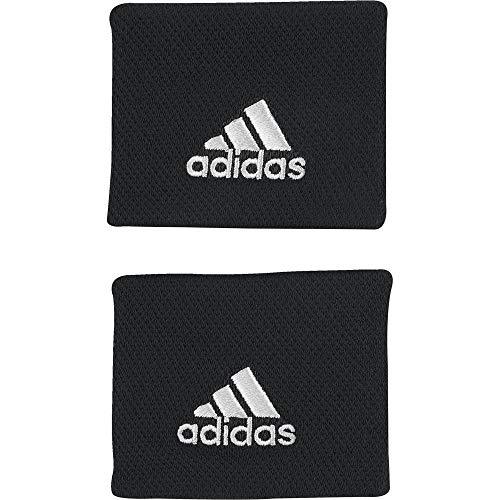 adidas WB S Tennis Wristband, Unisex Adulto, Black/White,...