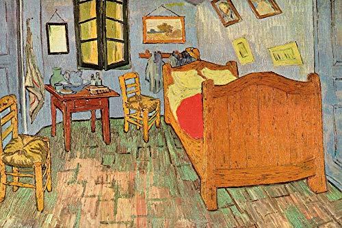 1art1 Vincent Van Gogh Posters XXL - La Chambre À Coucher À Arles, 1889 (120 x 80 cm)