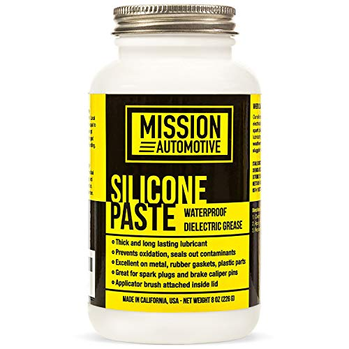 Mission Automotive Dielectric Grease/Silicone Paste/Waterproof Marine Grease (8 Oz.) Made in USA- Excellent Silicone Grease
