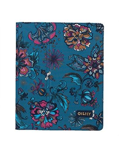 Oilily Sea of Flowers iPad 2 und 3 Hülle - Deep Ocean
