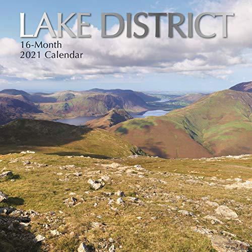 2021 Wandkalender - Lake District, 30 x 30 Zentimeter Monatsansicht, 16-Monat, Enthält 180 Aufkleber auf Englisch