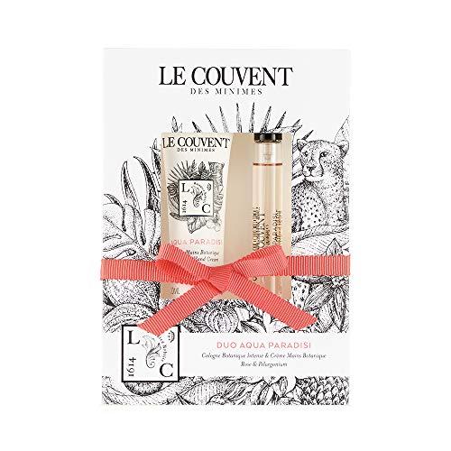 クヴォン・デ・ミニム(Le Couvent des Minimes) ボタニカルデュオ ボタニカルコロン アクアパラディシ10mL×1、アクアパラディシ ハンドクリーム30g×1