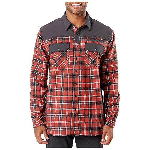 5.11 Tactical Men's Endeavor Flannel Shirt, RAPIDraw...
