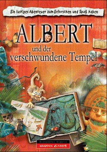 Albert und der verschwundene Tempel [Import allemand]
