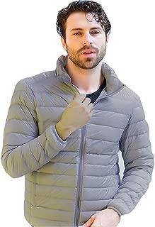 Men's Regular-Fit Lightweight Packable Down Jacket
