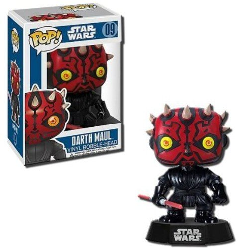 Funko 2390 POP Bobble: Star Wars: Darth Maul, Multi