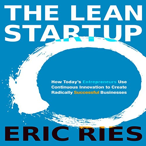 The Lean Startup audiobook cover art