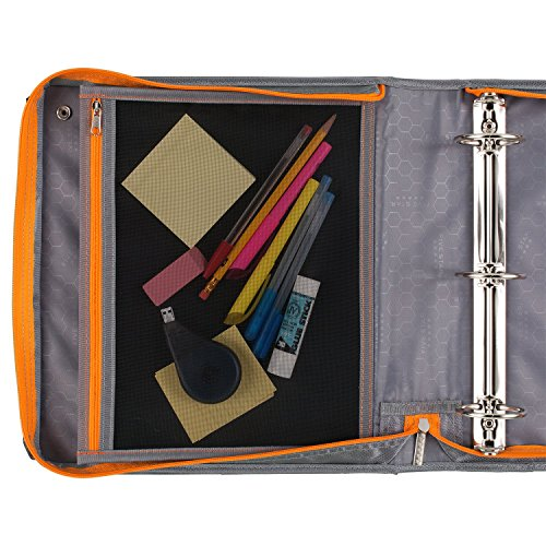 Five Star Sewn Zipper Binder, 2 Inch 3 Ring Binder With 4 Inch Capacity, Assorted Colors, Color Selected For You, 1 Count (28044) Photo #31