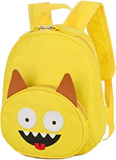 Kids' Backpack for Boys and Girls, Backpack Perfect Size for Preschool, Kindergarten and Elementary School, Anti-Slip Horizontal Buckle Outdoor (Color : Yellow, Size : S)