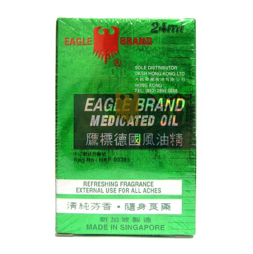 Eagle Brand Medicated Oil 0.8 Oz - 24 ml Bottle