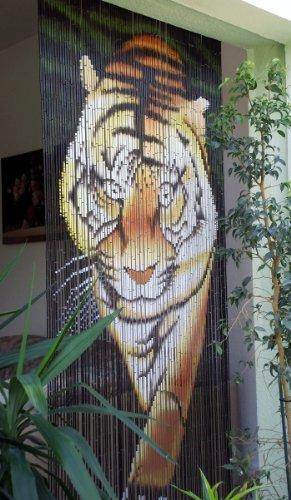 Leguana Bambustürvorhang Bambusvorhang Türvorhang Tiger II ca. 115x220cm (BxH)